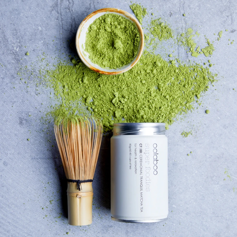Oolaboo Matcha by Haarmomentje